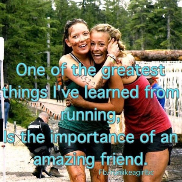 Running buddies are the best! | Run Like Hell | Pinterest