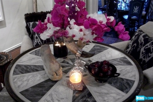 Orchids spice up any black-and-whtie palette.