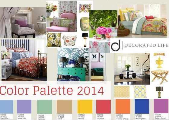 2014 Color Schemes; Purple, Yellow, Teal, Geometric and Floral Designs