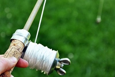 Make your own fishing rod cool stuff to teach the kids for Cool fishing poles