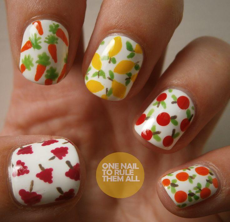 Nail Designs With Fruit: Refreshing summer fruit nail designs ...