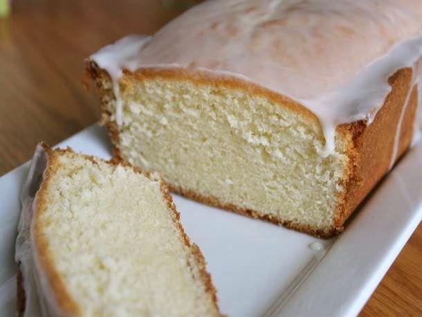 gluten-free buttermilk pound cake with lemon glaze | via @Serious Eats