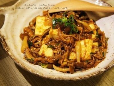 Teriyaki mushroom & tofu | Food! | Pinterest