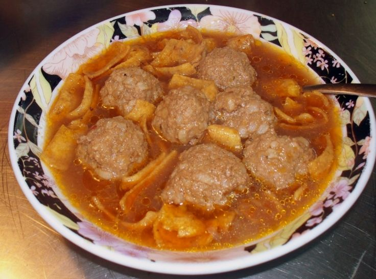 Abondigas Soup (Mexican Meatball Soup) | main dishes to try | Pintere ...