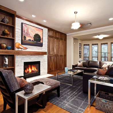 Fireplace Asymmetrical Mantel Fireplaces Pinterest