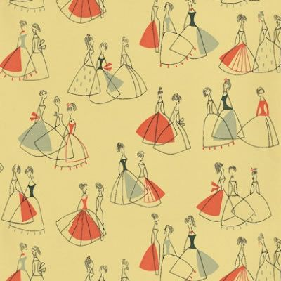 gallery for 1950s wallpaper patterns