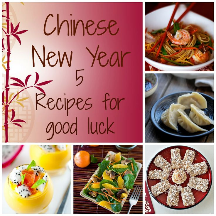 chinese new year foods Certain dishes are eaten during the chinese new year for their symbolic meaning lucky food is served during the 16-day festival season, especially new year's eve, which is believed to bring good luck for the coming yearthe auspicious symbolism of these foods is based on their pronunciations or appearance.