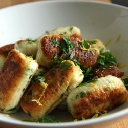 Ricotta Gnocchi. So simple & simply delicious!