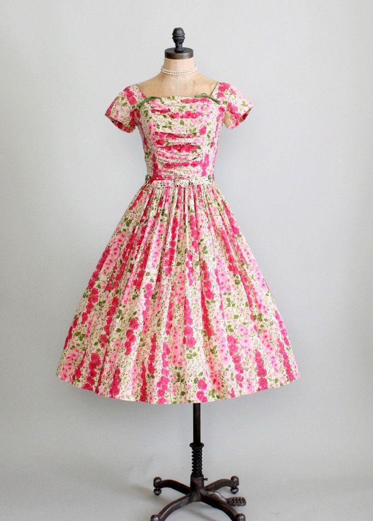 Vintage Garden Party Dresses 12