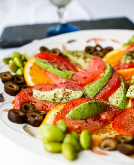 Sumac Citrus Avocado Tomato Salad