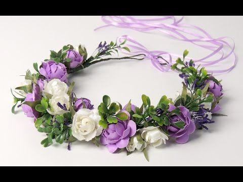 Цветы для венков своими руками