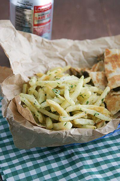 Garlic Fries | Foodie | Pinterest