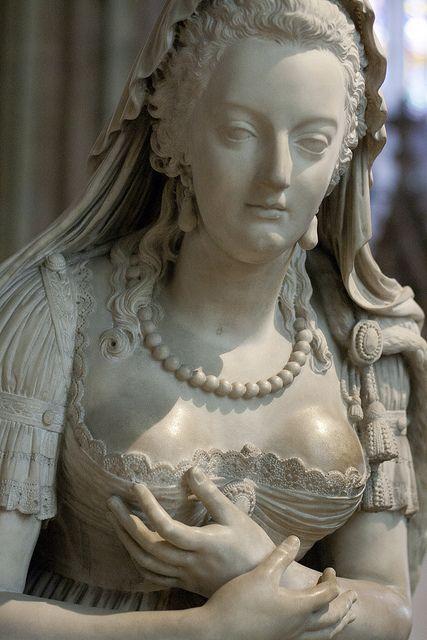 Paris | Cathédrale royale de Saint-Denis - Marie-Antoinette by Paulo Dykes, via Flickr