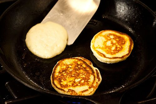 Ricotta Hotcakes with Maple Butter | Recipe