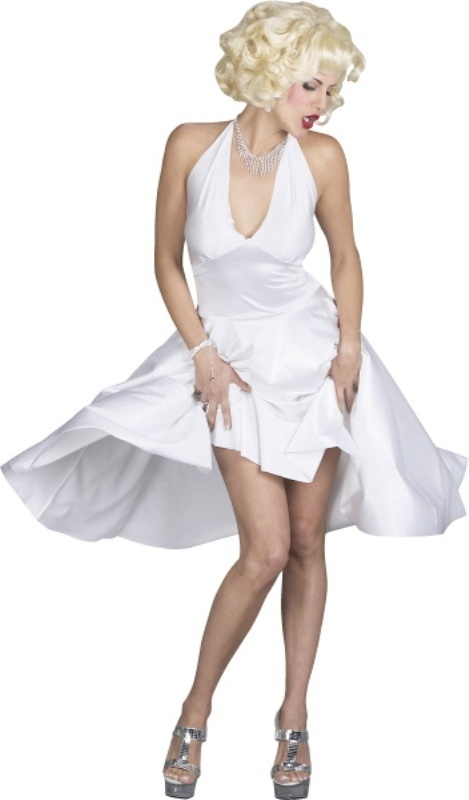 marilyn monroe white dress adult costume boudoir. Black Bedroom Furniture Sets. Home Design Ideas