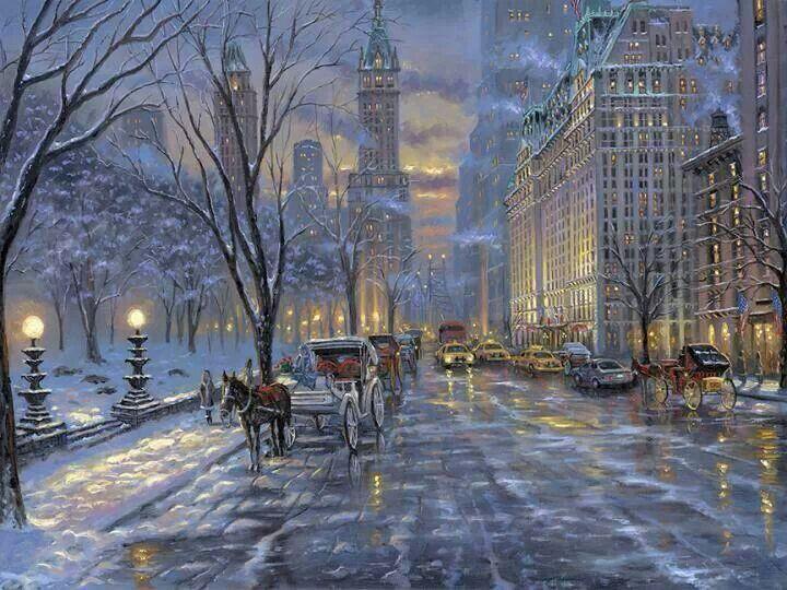 victorian christmas scenes - photo #21