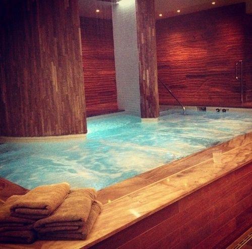 Ammmmaaazing Indoor Spa Indoor Hot Tub Pinterest