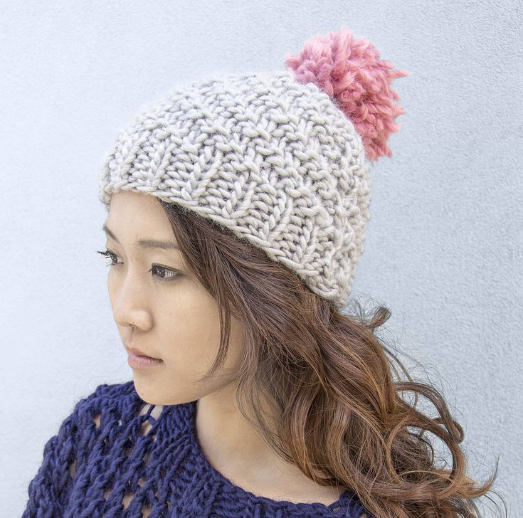 Beginner Knit Hat Pattern : Pinterest