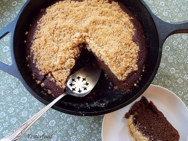 Yesterfood : Shoo-Fly Cake | Recipes: Cakes, Cupcakes and Frostings ...