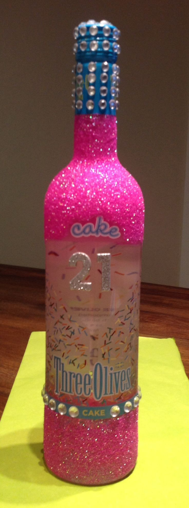 Diy 21st birthday cake ideas and designs for Crafts for birthdays as a gift
