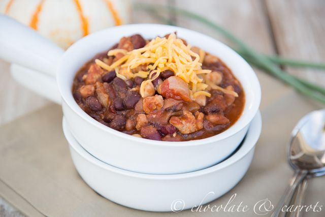 Quick Crock Pot Chili - this chili is SO yummy! I use left over taco ...