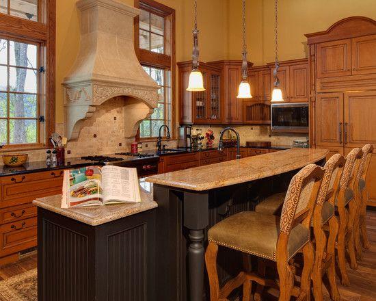 Ideas for cabin bar cabinthoughts pinterest - Kitchen counter bar ideas ...