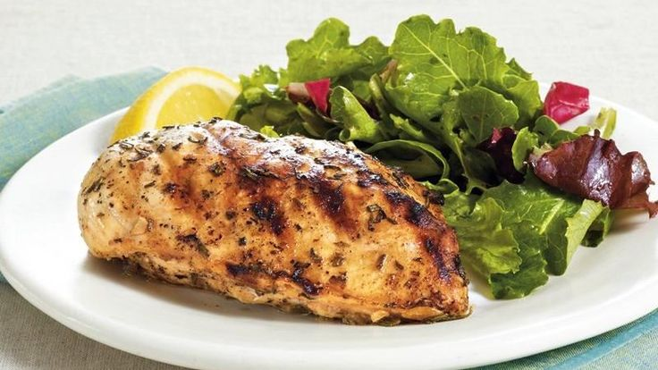 Grilled Chicken with Lemon, Rosemary and Garlic | Recipe