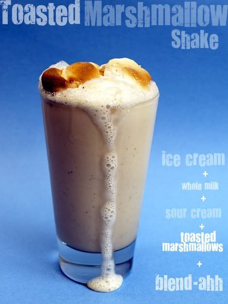 Toasted Marshmallow Shake from Top Chef's Spike Mendelsohn - Sounds ...