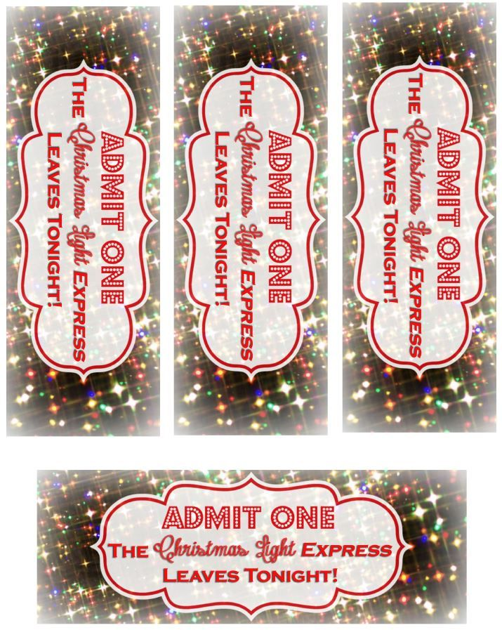 The Christmas Light Express Tickets