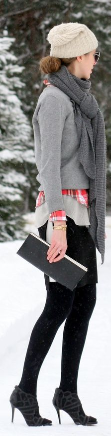 A Pop Of #Plaid