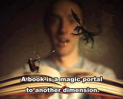 Real life dimensional portal books book photos memes awesomeness - Portal bookend ...