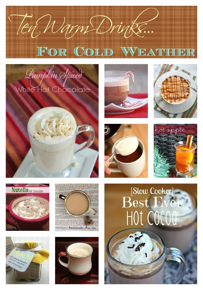 10 Warm Drinks for Cold Weather by Other Food Bloggers