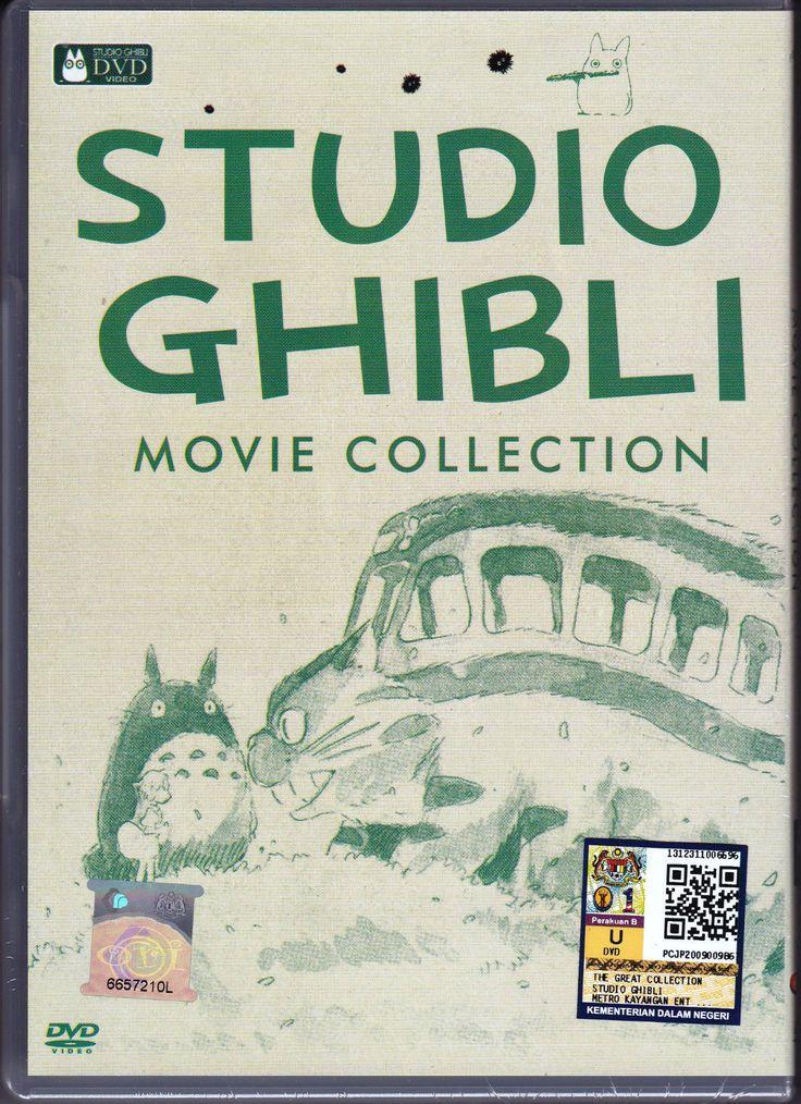 Pinned Movie Dvd Dvd Anime Studio Ghibli Movie
