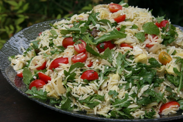 one-pound box of orzo 1 large yellow onion 1/3 cup olive oil pinch ...