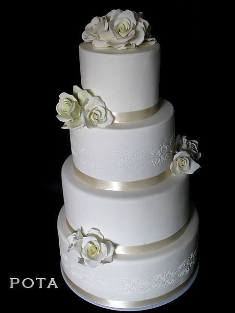 Artis Wedding Cake : Image Simple 4 Tier Wedding Cakes Download