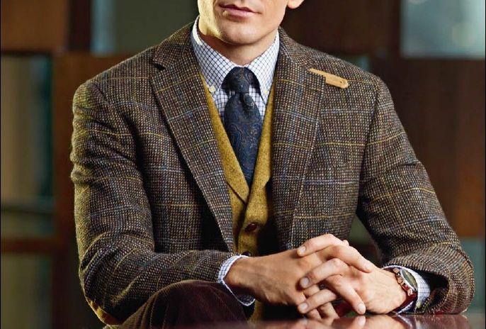 Professor Style Fashion Men Tweed Style Pinterest