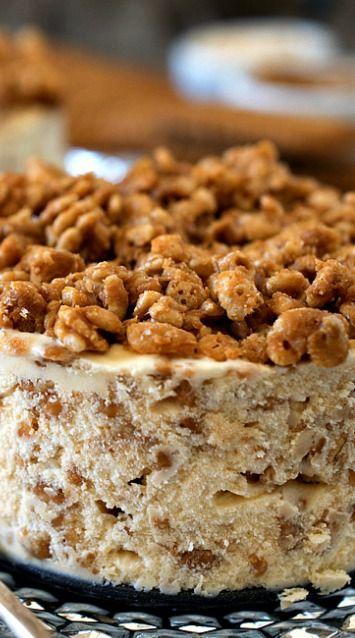 Biscoff Crunch Ice Cream Cake | Recipe
