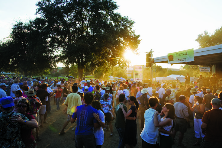 festivals in jefferson davis parish