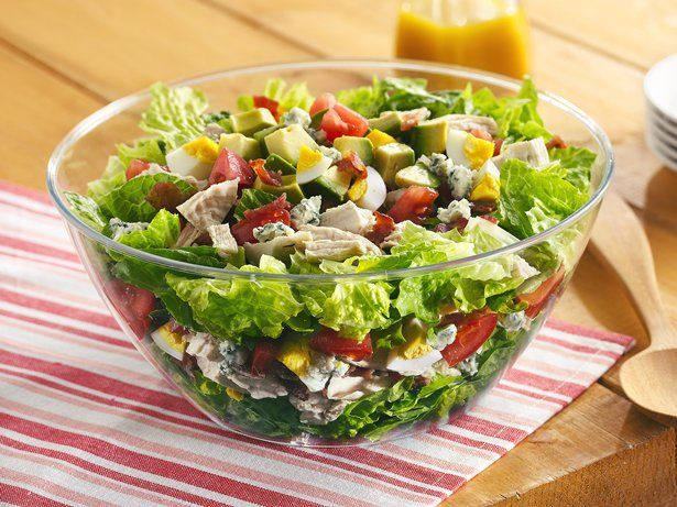 Easy Cobb Salad Recipe — Dishmaps