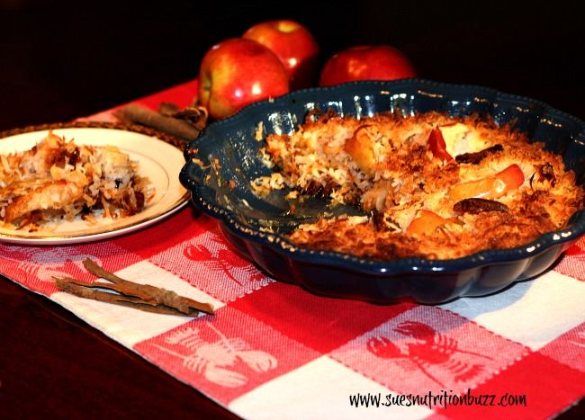 Paleo Friendly Light Apple Date Coconut Crisp #GlutenFree #Vegan ...