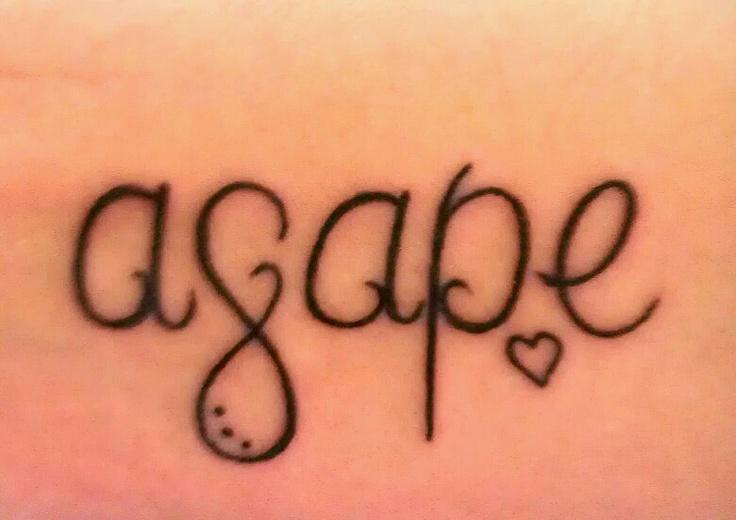Agape love tattoo designs