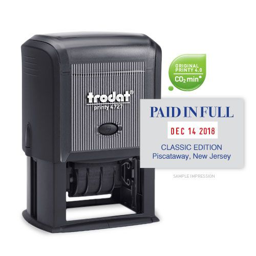 Printy Date & Text 4727 | Trodat Products | Pinterest