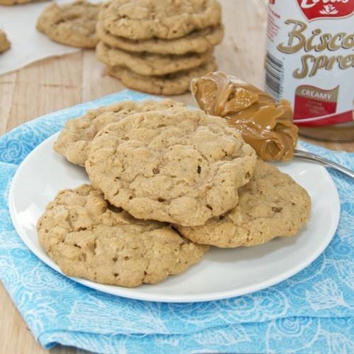 Biscoff Oatmeal Cookies | Recipe