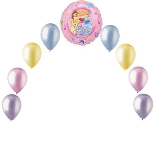 how to make a small balloon arch