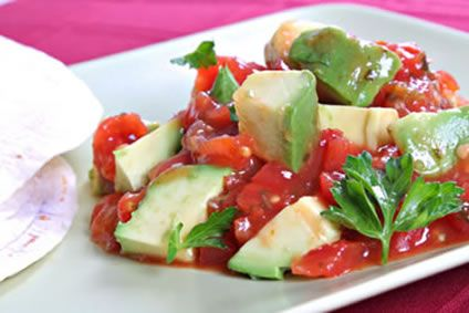 """Pico de gallo"""" is Spanish for """"rooster's beak"""" and it is a..."""