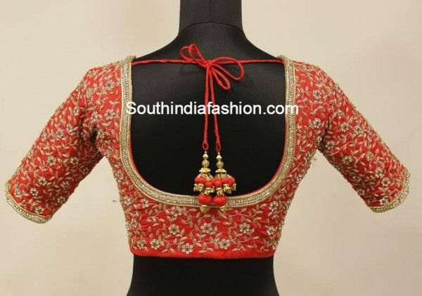 Stunning wedding saree blouse design ideas collections