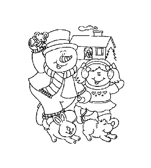 Christmas snowman coloring pages christmas templates pinterest