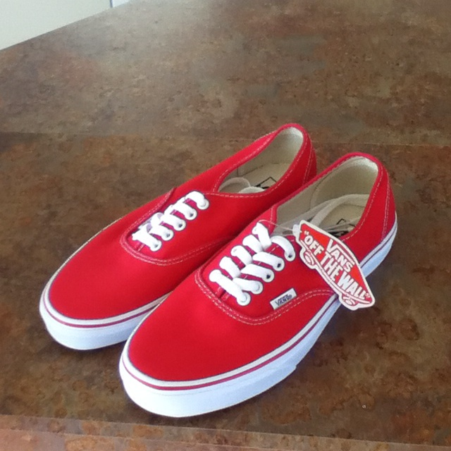 All Red Vans Al...
