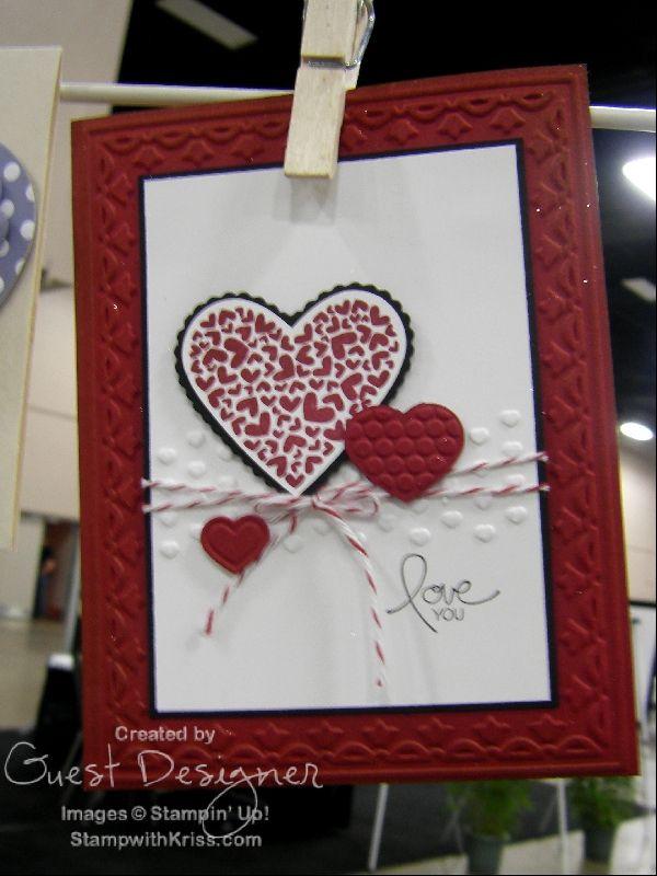 Stampin Up Valentine Card Ideas