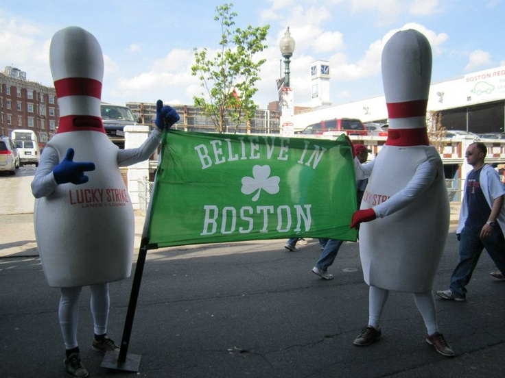 Mr. and Ms. Pin are dedicated Boston sports fans! Are you? #RedSox #Celtics